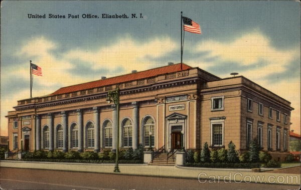 Elizabeth (NJ) United States  city photo : United States Post Office Elizabeth New Jersey