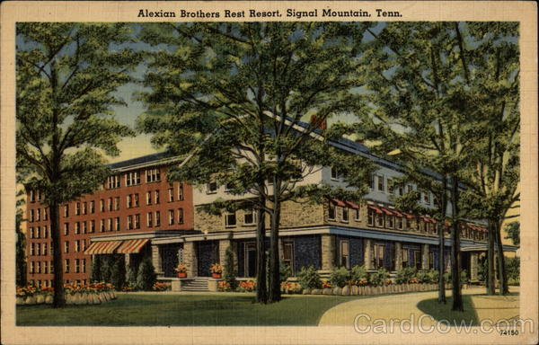 Alexian Brothers Rest Resort Signal Mountain Tennessee