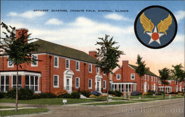 Officers' Quarters, Chanute Field Rantoul Illinois