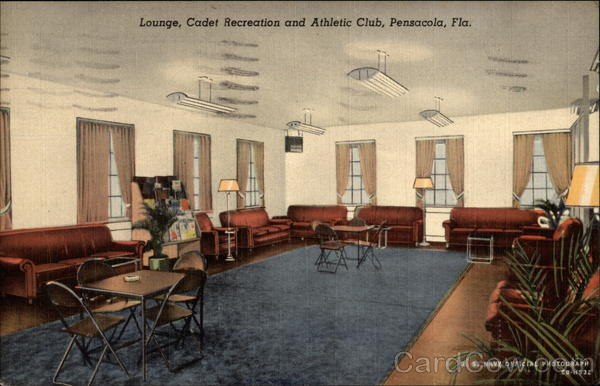 Lounge, Cadet Recreation and Athletic Club Pensacola Florida