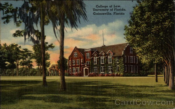 College of Law - University of Florida Gainesville