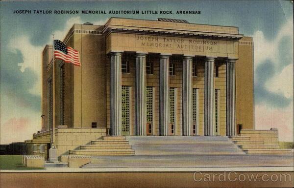 Joseph Taylor Robinson Memorial Auditorium LIttle Rock Arkansas