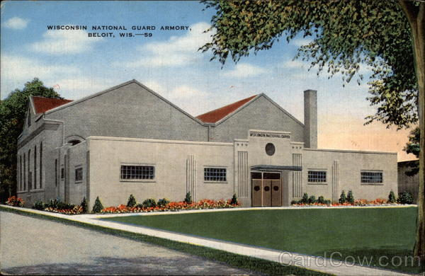 Wisconsin National Guard Armory Beloit