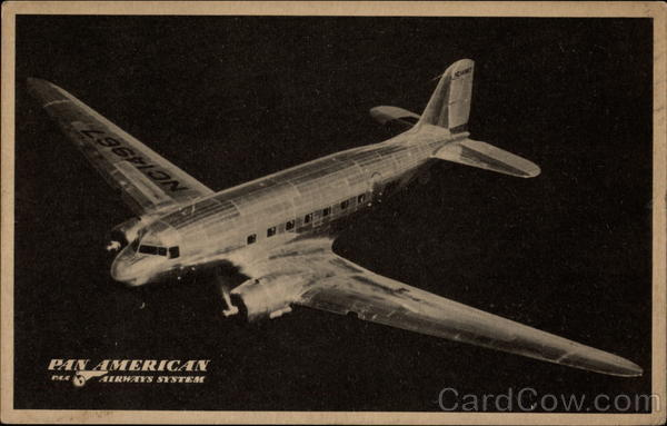 Enroute via PAA. Douglas Clipper Aircraft