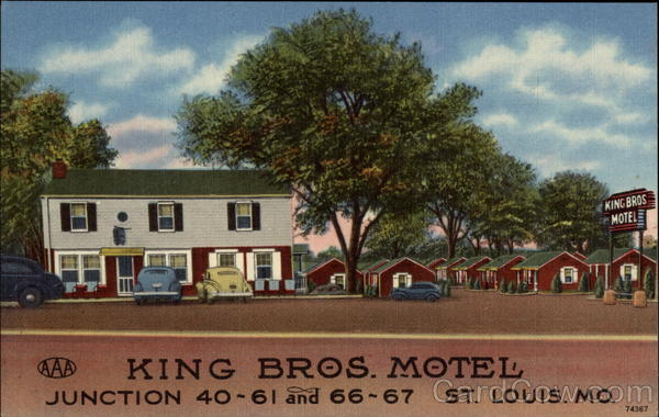 King Bros. Motel St. Louis Missouri
