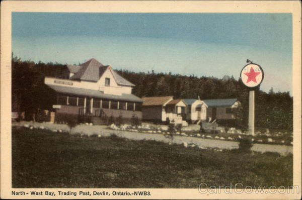 North-West Bay Trading Post Devlin Canada Ontario