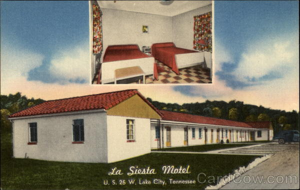 La Siesta Motel & Restaurant Lake City Tennessee