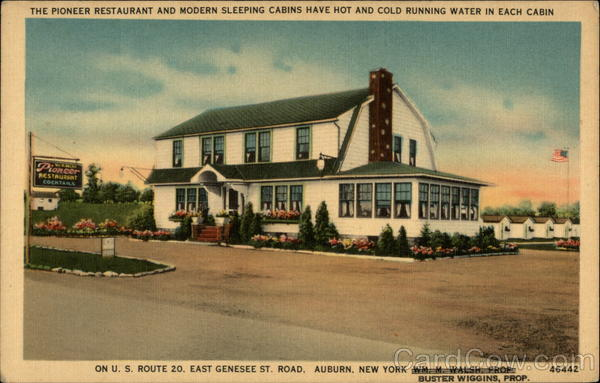 Pioneer Restaurant Auburn New York