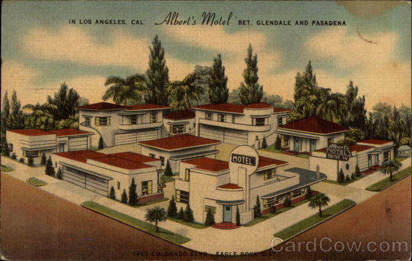 Albert's Motel Los Angeles California