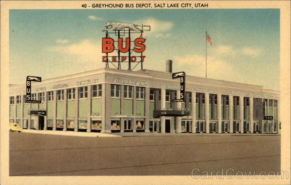 Greyhound Bus Lines Salt Lake City Utah