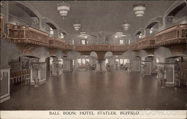 Hotels In New York City >> Ball Room, Hotel Statler Buffalo, NY