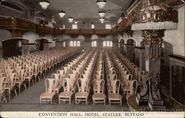 Convention Hall, Hotel Statler Buffalo New York
