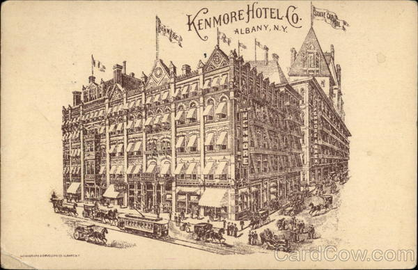 Kenmore Hotel Co Albany New York