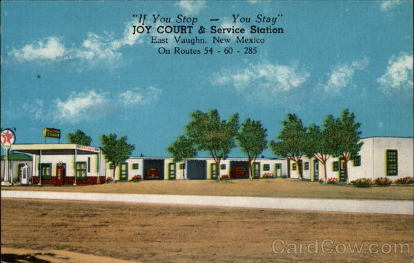 Joy Court & Service Station East Vaughn New Mexico