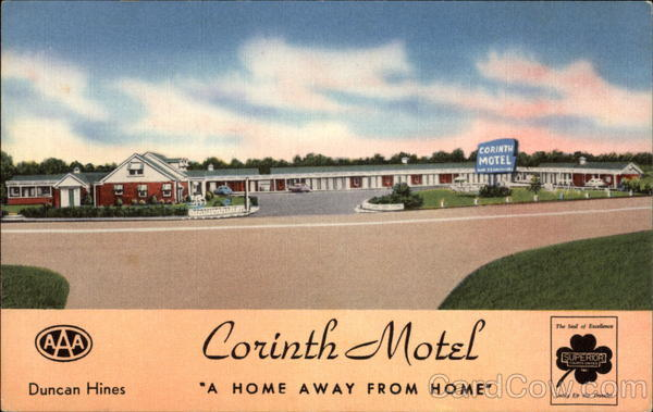 Corinth Motel Mississippi