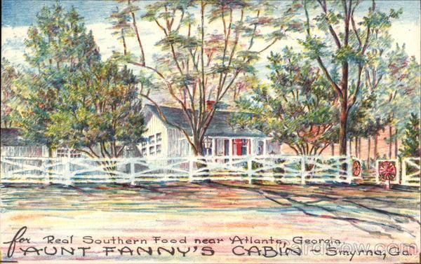 Aunt Fanny's Cabin Smyrna Georgia