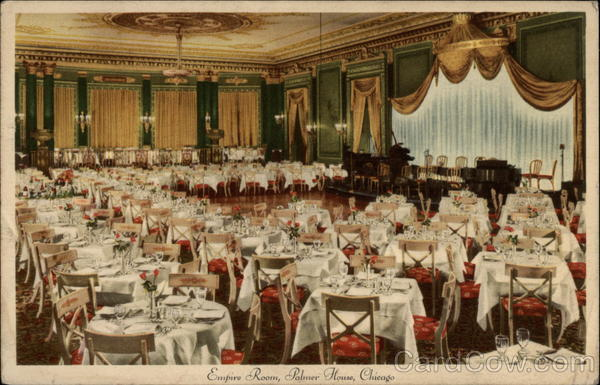 Empire Room, The Palmer House Chicago Illinois