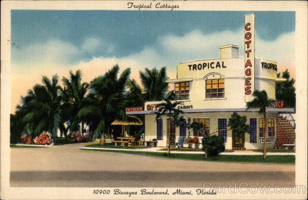 Tropical Cottages Miami Florida