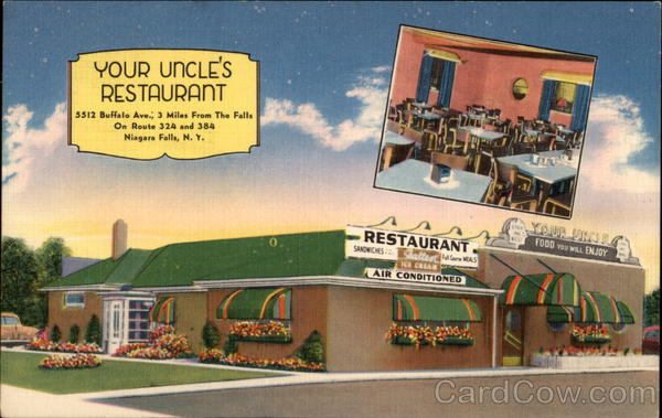 Your Uncle's Restaurant Niagara Falls New York
