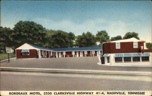 Bordeaux Motel Nashville Tennessee