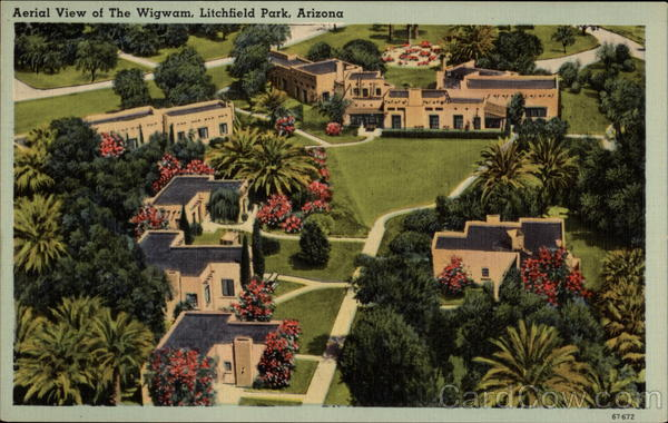 Aerial View of The Wigwam Litchfield Park Arizona