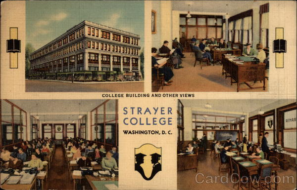College Building and Other Views - Strayer College Washington District of Columbia
