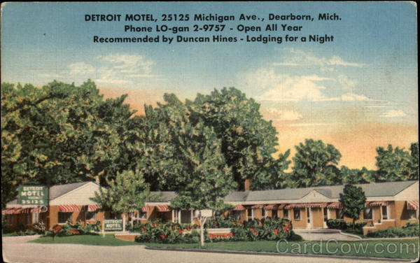 Detroit Motel Dearborn Michigan