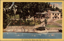 The Swimming Pool, Babcock State Park, W. Va. -D-36
