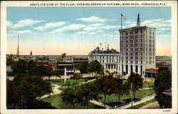 Bird's Eye View of the Plaza, Showing American National Bank Bldg