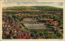 View of Stadium and Lafayette College