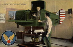 Instruction in Link Trainer, Canute Field