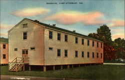 Barracks, Camp Atterbury
