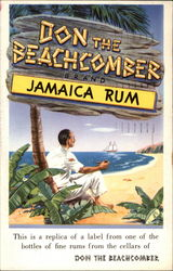 Don the Beachcomber replica label