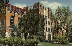 The Michigan League Building of the University of Michigan