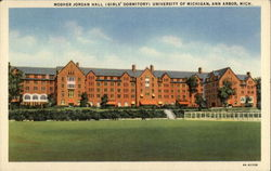 Mosher Jordan Hall (Girls' Dormitory) University of Michigan