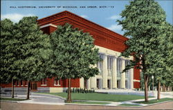 Hill Auditorium