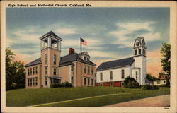 High School and Methodist Church