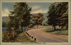 Greetings - A Country Road