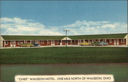 """Chief"" Wauseon Motel - One Mile North of Wauseon, Ohio"