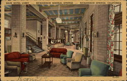 Main Hotel Lobby - Richardson Mineral Springs