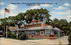 Angelo's Place - Facing the Sparkling Waters of the Gulf on U.S. 90