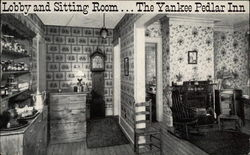 Lobby and sitting room...The Yankee Pedlar Inn