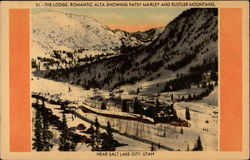 The Lodge, Romantic Alta Showing Patsy Marley and Rustler Mountains