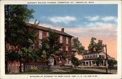 Historic Walker Taverns, Cambridge Jct