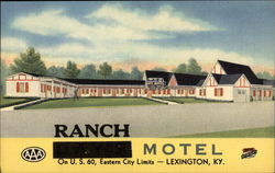 "Ranch Motel ""Best in the Blue Grass"""