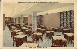 The Harmony Cafeteria Postcard