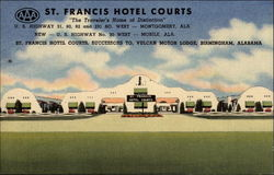"St. Francis Hotel Courts ""The Traveler's Home of Distinction"""