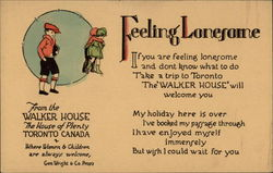 Feeling Lonesome - From the Walker House