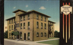 Riverview Hotel Postcard