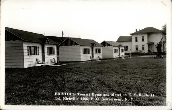 Bristol's Tourist Home and Motel Gouverneur New York